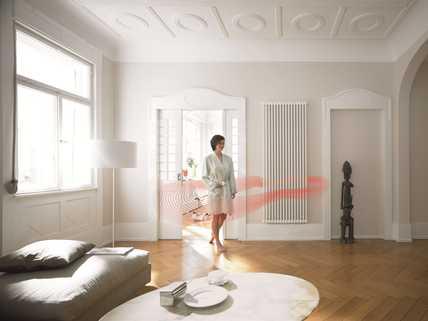 W instalacjach niskotemperaturowych znakomicie sprawdzają sie grzejniki o transparentnej, elementowej budowie.