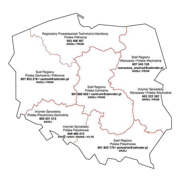 Regionalni przedstawiciele handlowi - technika grzewcza